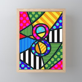 Lucky Eight Framed Mini Art Print