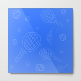 TennisBlues Metal Print