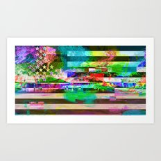 Homeland (collaboration w/ Matt Gilles) Art Print