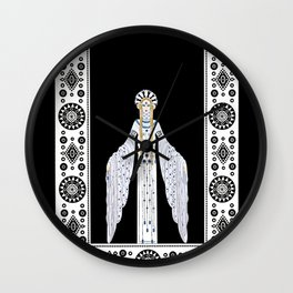 "Art Deco Design ""Byzantine"" by Erté Wall Clock"
