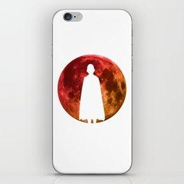 Anime Hero Moon Inspired Shirt iPhone Skin