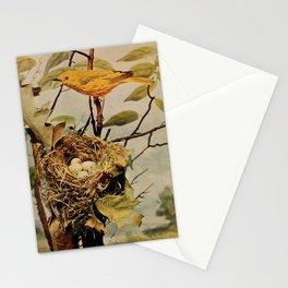 Neltje Blanchan - Bird Neighbours (1903) - Yellow Warbler Stationery Cards