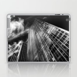 Towers and clouds Laptop & iPad Skin