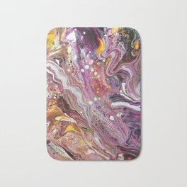 Original Acrylic Painting, Poured Painting, Abstract, Acrylic Flow, Art Resin, Art Epoxy, Fluid pain Bath Mat