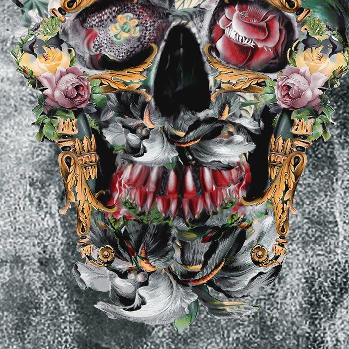Skull on old grunge III Leggings