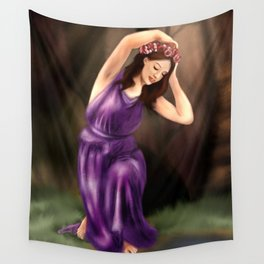 The Water Nymph Wall Tapestry
