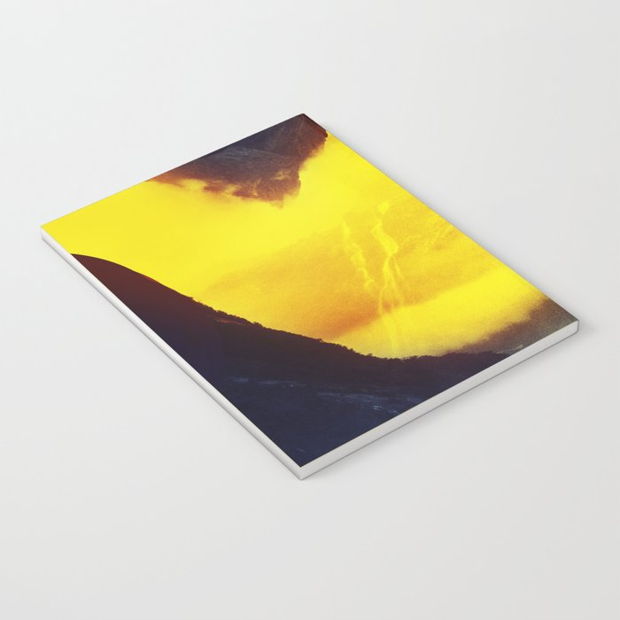 This volcano is mine Notebook