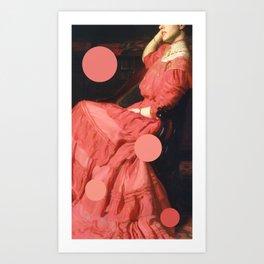 Sargent poka dot Art Print