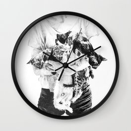 You're all mine Wall Clock