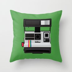 Polaroid Supercolor 635CL Throw Pillow