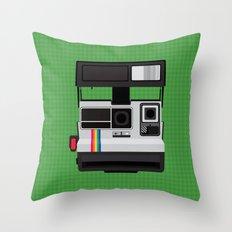 Polaroid Supercolor 635CL Throw Pillow