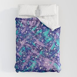 Winter Day Dreams Abstract Comforters