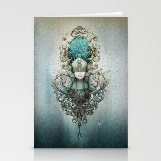 beauty is in the eye of the beholder Stationery Cards