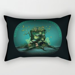 Asheville, NC - Nature's Playground - AVL 23 Wizard Stump Rectangular Pillow