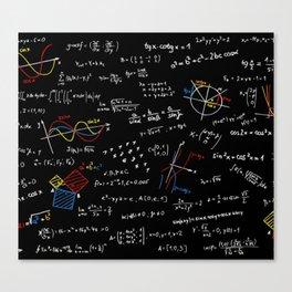 Math Equation Canvas Print