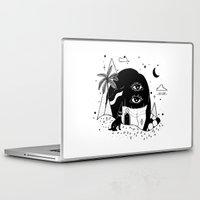 silent Laptop & iPad Skins featuring Silent Night by Súa Agapé