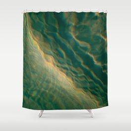 Tsunami Shower Curtain