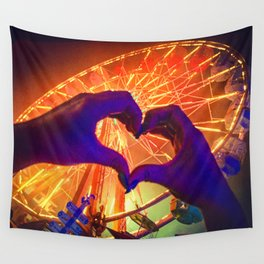 Loves Saves Ferris Wall Tapestry