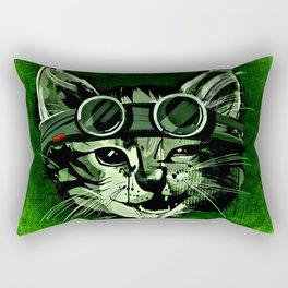 Chill Cat Rectangular Pillow
