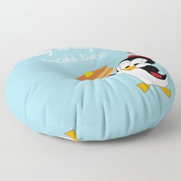 Chilly Willy Floor Pillow