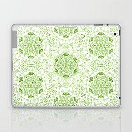 Mandala_Green Laptop & iPad Skin