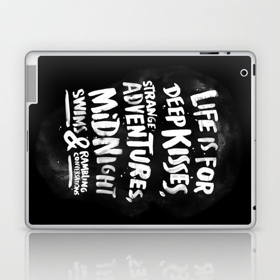 Life is for deep kisses... Laptop & iPad Skin