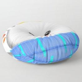 Autumn spitz Floor Pillow