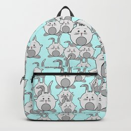 Cute happy crowd Backpack