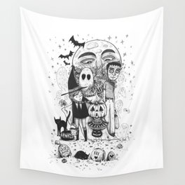 Halloween toothache Wall Tapestry