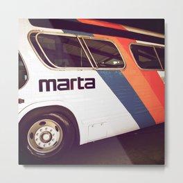 Marta Transit Metal Print