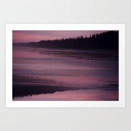 Ocean Reflection Art Print