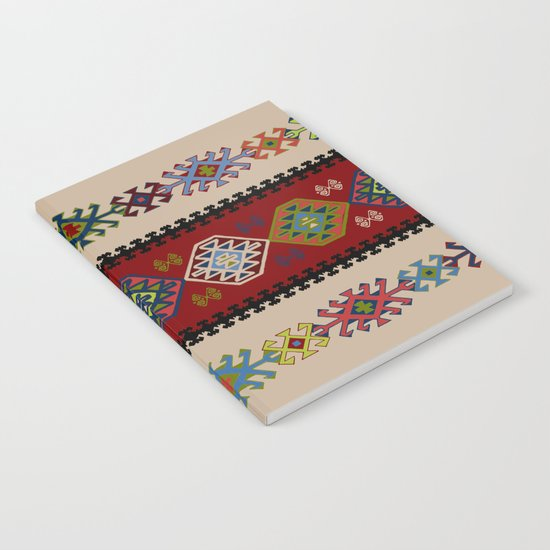 Kilim pattern #022 Notebook
