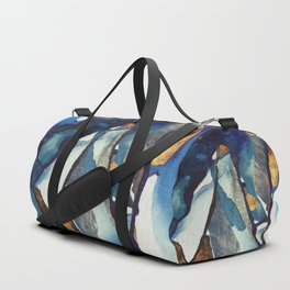 Cobalt Abstract Duffle Bag
