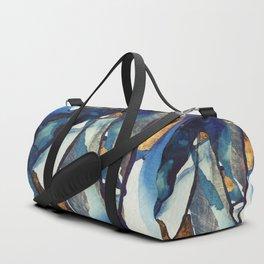 Cobalt Abstract Duffle Bag