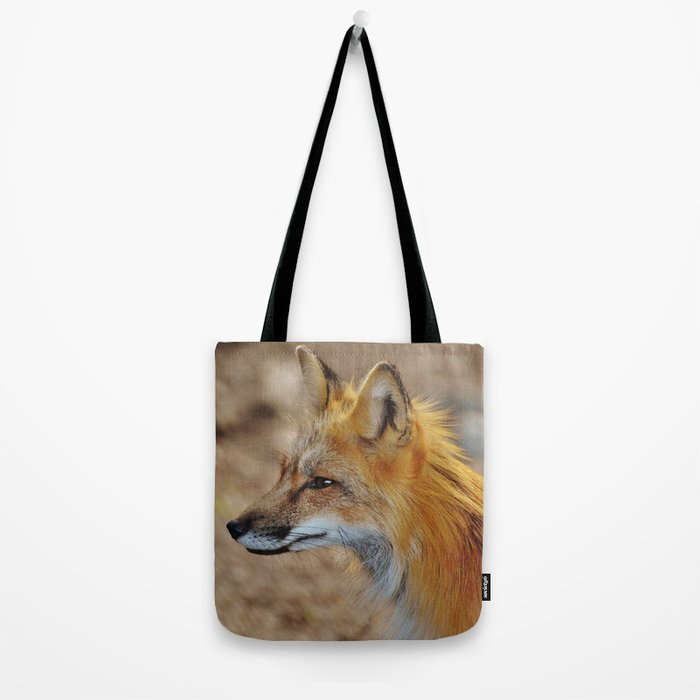 Inquisitive Mr. Fox Tote Bag