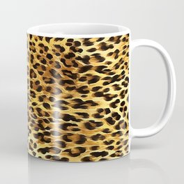 Leopard Skin Camouflage Pattern Coffee Mug