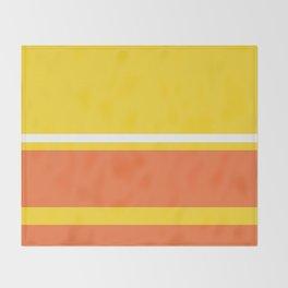 Colours of Lisa Throw Blanket