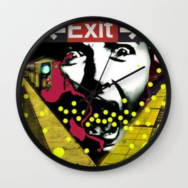 EXIT SUBWAY Wall Clock