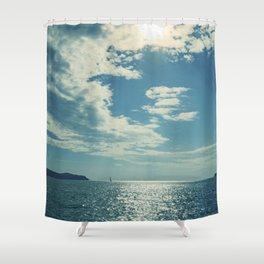 Santorini, Greece 17 Shower Curtain