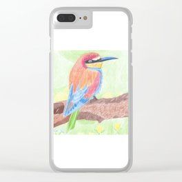 Bird of nature Clear iPhone Case