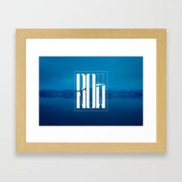 Do It Now Framed Art Print