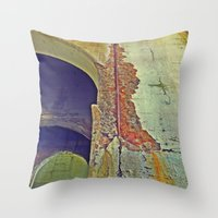 concrete Throw Pillows featuring Concrete by RDKL, Inc.
