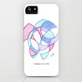 Cirque-Cle #5 iPhone Case