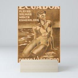 plakate Ecuador Mini Art Print