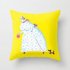 Big Girl Throw Pillow