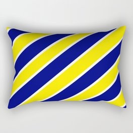 TEAM COLORS ONE NAVY,YELLOW,WHITE Rectangular Pillow