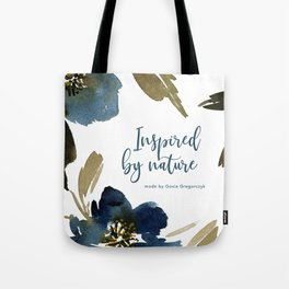 indygo flowers Tote Bag