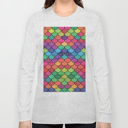 Watercolor Lovely Pattern VVXVII Long Sleeve T-shirt