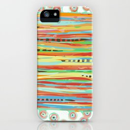 stripes & striped iPhone Case