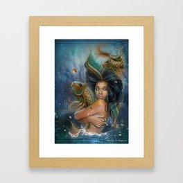 SunQueen Goddess Framed Art Print